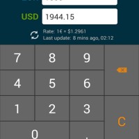Euro To Dollar Conversion Calculator
