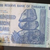 How Much Is A 100 Trillion Zimbabwe Dollar Worth