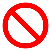 International Symbol For No